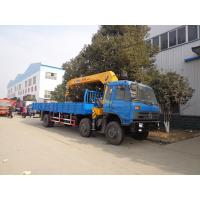 10T DropsideTruck Mounted Telescopic Crane With Hydraulic Straight Arm Manufactures