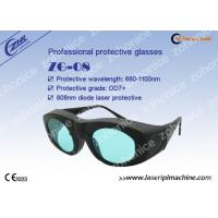 China Laser safety goggle glasses 808nm for Alaxandrite and Diode Laser protection on sale