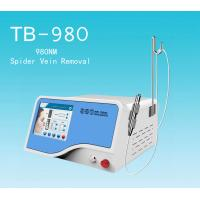China 10w Spider Veins Removal 980 nm Diode Laser Vascular Therapy With Air Cooling System on sale