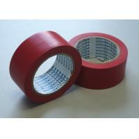 Red Flame Retardant Tape , Low Peel Strength Electrical Insulating Tape Manufactures