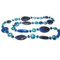 Blue Agate Necklace Manufactures