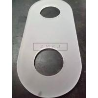 Single Crystal Glass Lens , Sapphire Lens 99.999% Al2O3 Materials With Hole Manufactures