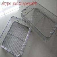 medical stainless steel wire basket/Perforated Mesh Basket/Mesh Sterilization Trays/ Mesh Sterilization Baskets Manufactures
