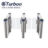 Security Speed Gate Turnstile ,  RFID Face Recognition Turnstile Barrier , 220V Pedestrian Gate with for Office Building Manufactures