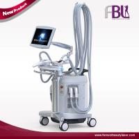 Popular Design Four Handles Vacuum Roller Slimming Machine with RF Function Manufactures