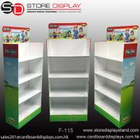 Buy cheap Four tiers Floor display stand shelves from wholesalers