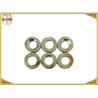 Nickel Finish Sew On Magnetic Button Clasp 18mm Diameter Die Casting Products Manufactures