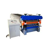 Quality 925 mm galvanized metal roofing panel double deck roll forming machine for sale