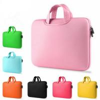Shock Absorption Pink Womens Laptop Bag Customed Washable With Carry Handles Manufactures
