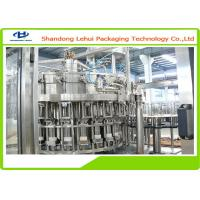Drinking Water Mineral Water Filling Machine In Plastic Bottle With PLC Control Manufactures