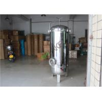 China Industrial Stainless Steel Multi Cartridge Water Filter Housing Food Grade on sale