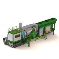 China China Manufacturer 20T/H Hot Sale Mobile Mini Asphalt Drum Mix Plant for sale