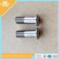 China Half Thread Gr5 M6 Allen Head Titanium Bolts For Motorcycle on sale