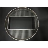 Custom manufactured & designed of wedge wire screens for industrial applications Manufactures