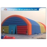 China Giant Inflatable Party Tent Inflatable Structure Multi Color , 18*10m on sale