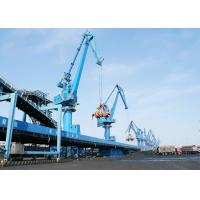 China Four Link Type Seaport Port Gantry Crane , Container Handling Heavy Motorized Gantry Crane on sale