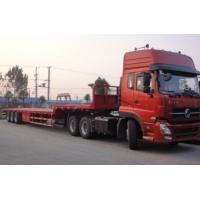 50t Heavy Duty Low Bed Semi-trailer Truck Manufactures
