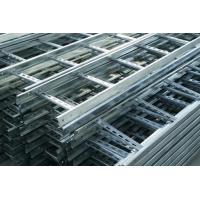 Heat Insulation Pre Galvanised Cable Tray , Ladder Type Cable Tray Light Duty Manufactures