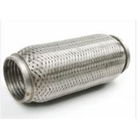 64 X 90mm Auto Exhaust Flexible Pipe With Interlock 444 + 409L Material Manufactures