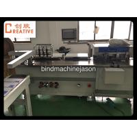 High speed hole punching machine with wire binding function PBW580 Manufactures