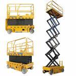 3kw 12m GTJZ1012 Electric Auto Scissor Lift  / Aerial Work Platform Manufactures