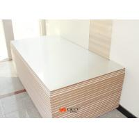 Pure White 9mm / 12mm Laminate Melamine MDF Board Decorative Interior Wall