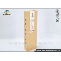 4C Printing Paper Wine Box Customized Size Delicate Design For Gift Packaging Manufactures