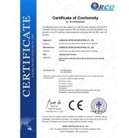 Shanghai Weixuan Industrial Co.,Ltd Certifications