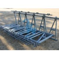 Dairy Cattle Head Lock Cubicle / Locking Feed Barriers With Spring -Loaded Neck Manufactures