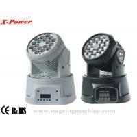 LED Mini Wash Moving Head Lights18 *3 W Led Moving Head Light   X-14A Manufactures