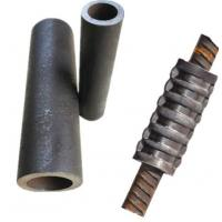 Cold Pressing Swaging Reinforcing Bar Couplers Repair Grip Type Threadless Connection Manufactures