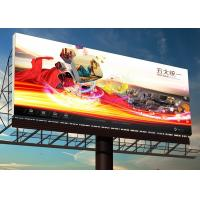 China External Led Full Color Screen P10 , Waterproof Led Advertising Signs on sale