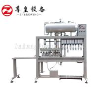 High Speed Beer Can Filling Machine , Beverage / Tin Can Filling Machine Manufactures