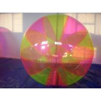 China Colorful Inflatable Water Ball , Inflatable Water Bubble For Water Games on sale