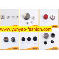 China Metal Material and Round Shape pearl snap button on sale