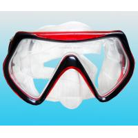 Silicone diving mask watersport swimming face mask diving product/equipment Manufactures