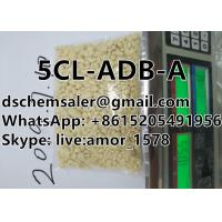 China 5CLADBA synthetic cannabinoid white and yellow color with safe and fast shipping on sale