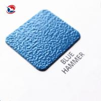 Sandy / Wrinkled Thermosetting Metallic Texture Electrostatic All Color Powder Coating Manufactures