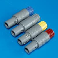 PAG 5 Amp Plastic Circular Connectors , Lemo Compatible Low Voltage Connectors Manufactures