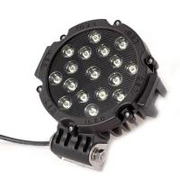 51 Watt Round Outdoor LED Flood Lights 10-30V DC Stainless Steel Mounting Bracket Manufactures