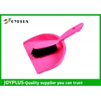 Floor Cleaning Products Dustpan Brush Set Graceful Shape Various Colors Available Manufactures