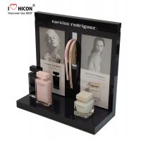 Get Attention Acrylic Custom Cosmetic Display Stand Low MOQ For Beauty Store Manufactures