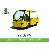 700KG Small Electric Cargo Van Airport Luggage Cart 2 Seats With CE Certificate Manufactures