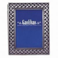 Polyresin Photo Frame with E-plated Color Manufactures