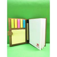Promotional Hardcover Art Paper Custom Printed Notebooks With A Pen And Tips Manufactures