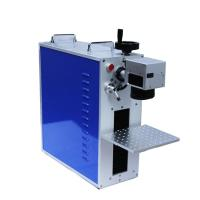 China 45kg Light Weight Fiber Laser Marking Machine Mini Type With Blue Color on sale