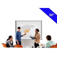 Durable Electromagnetic Interactive Whiteboard For Business 178° Viewing Angle Manufactures