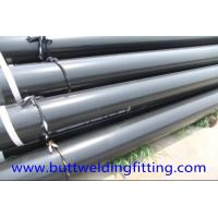 China 10 SCH STD ASTM A106 Gr.B API Carbon Steel Pipe / CS SMLS Pipe on sale