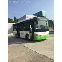 Pure CNG City Bus 53 Seater Coach , Inter City Buses Transit Coach Euro 4