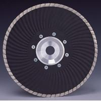 Marble granite Cutting Turbo Wave Diamond cutting Blades with Flange Manufactures